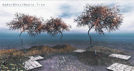 LB Amber Ghost Maple Tree Animated 4 Seasons