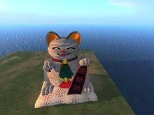 House cat good luck /Peludo/furry