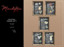 Moonley Inc. - Cocktail Frame Set 1