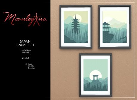 Moonley Inc. - Japan Frame Set
