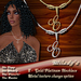 DISCOUNTED! *Milady's* -E- Platinum/Gold Necklace