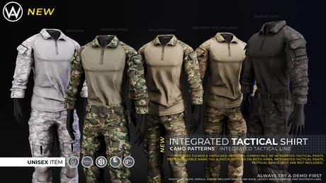 [WAZ] Integrated Tactical Shirt (Fatpack)