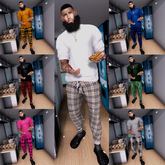 >IC< His Plaid & Boujee Collection-FATPACK