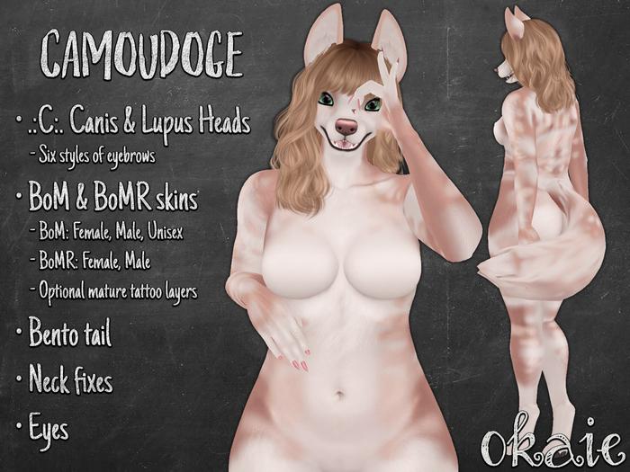 .{o}. Camoudoge // Macadamia // Canis, Lupus, BoM, BoMR