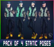 [ H O W L I N G ] - Karnak -Static Poses