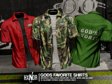 """HX: """"God's Favorite"""" Work Shirt Fatpack """"BOXED"""""""