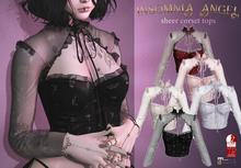 Insomnia Angel . sheer corset tops [FAT]