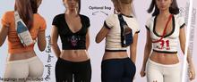 MANOLI TOP FEMALE WITH BAG COLORS FATPACK - MESH - MAITREYA- BELLEZA FREYA- LEGACY - FashionNatic