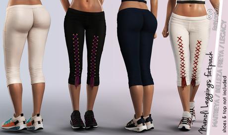 FashionNatic - Manoli Leggings Fatpack Colors - Maitreya, Belleza Freya, Legacy