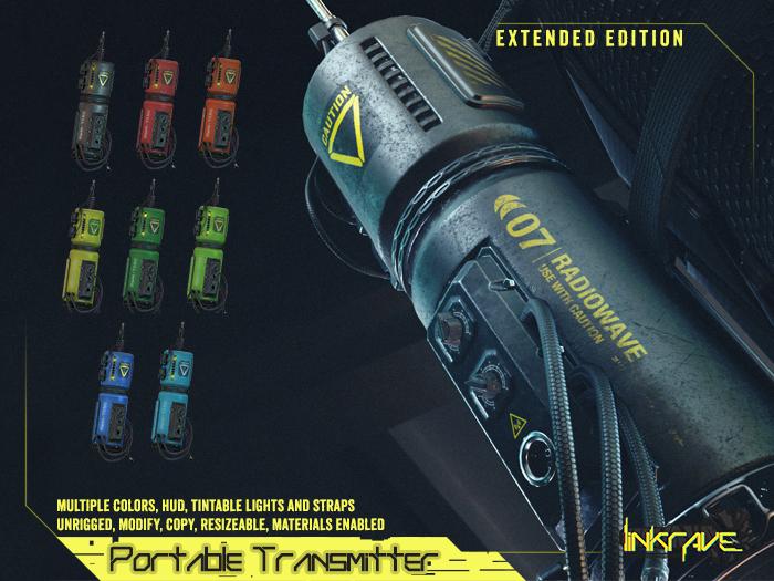 [DustyHut] Portable Transmitter - EXTENDED Edition [LINKRAVE]