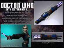 Vortech 12th Doctors Sonic Screwdiver