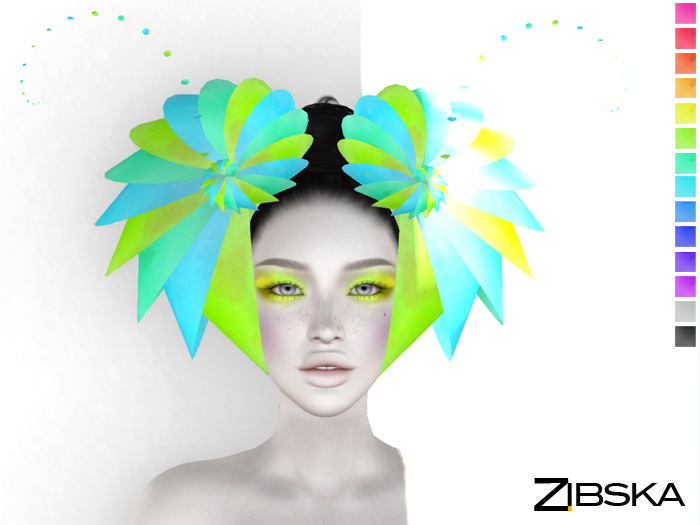 Zibska ~ Laelia Color Change Headpiece