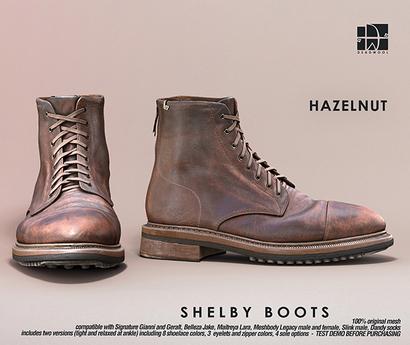 [Deadwool] Shelby boots - hazelnut