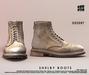 [Deadwool] Shelby boots - desert