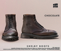 [Deadwool] Shelby boots - chocolate