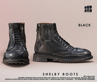 [Deadwool] Shelby boots - black
