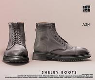 [Deadwool] Shelby boots - ash