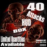 40 Attacks HUD