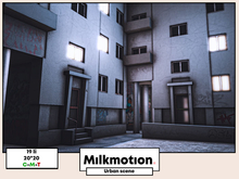 (Milk Motion) Urban scene