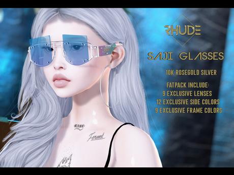 [RHUDE] Saji Glasses Silver