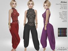 PROMO - Vaxer : Azhar Jumpsuit - Maitreya, Slink (P, H), Belleza (V, I, F), Altamura & Legacy. 10 Texture. Mix & Match