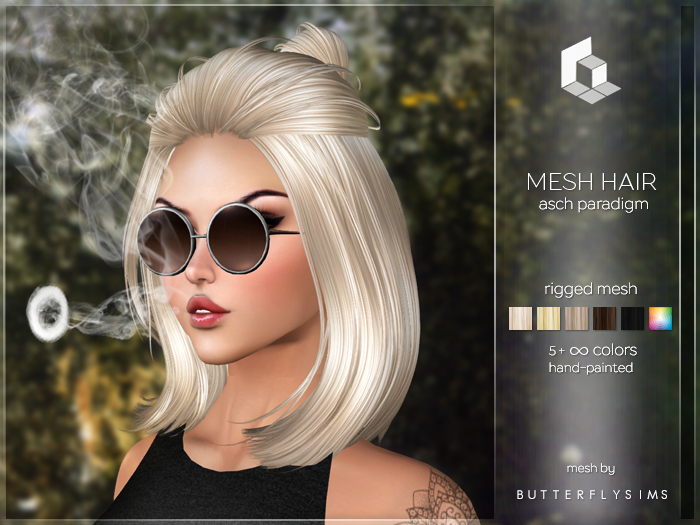rezology Asch Paradigm (mesh hair)