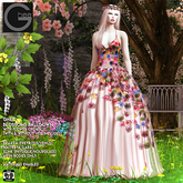 Ghee Blossoms Gown & Flower Crown