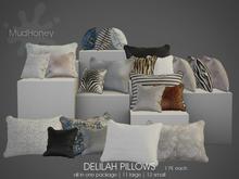 MudHoney Delilah Pillows