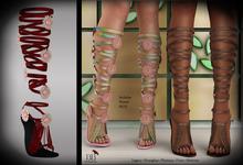(*<*) 1313 Le Fleur Sandals - Scarlet
