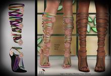(*<*) 1313 Le Fleur Sandals - Rainbow