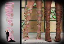 (*<*) 1313 Le Fleur Sandals - Pink