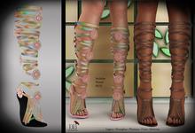 (*<*) 1313 Le Fleur Sandals - Pastelette