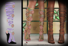 (*<*) 1313 Le Fleur Sandals - Lilac