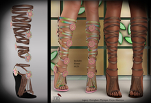 (*<*) 1313 Le Fleur Sandals - Faded Leather