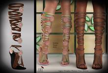 (*<*) 1313 Le Fleur Sandals - Brown Leather