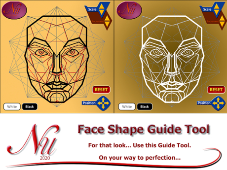 Face Shape Guide Tool