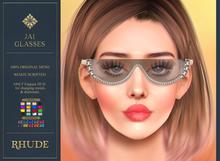 [RHUDE] Jai Glasses Gold