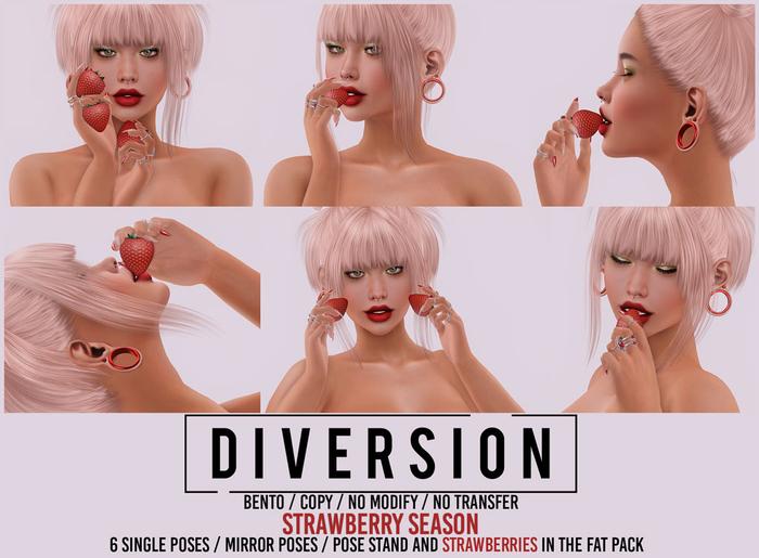 Diversion - Strawberry Season Poses // Bento
