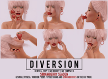 Diversion - Strawberry Season Poses (Wear To Unpack)
