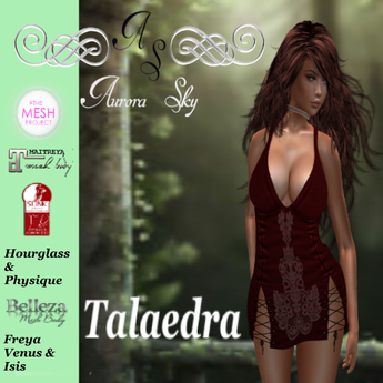 Talaedra Burgundy Camisk