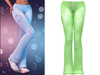 !PCP :: Lacey Jeans [Lime]