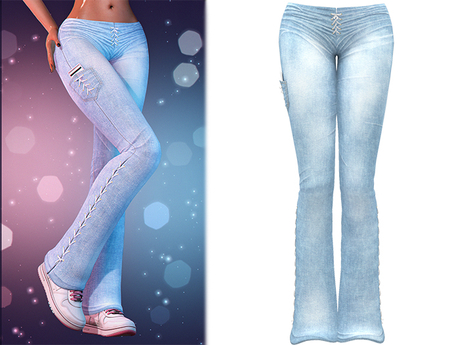 !PCP :: Lacey Jeans [Sky]