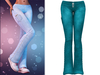 !PCP :: Lacey Jeans [Teal]