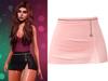 !PCP :: Serena Cloth Skirt [Champagne]
