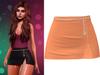 !PCP :: Serena Cloth Skirt [Orange]