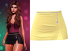!PCP :: Serena Cloth Skirt [Lemon]