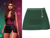 !PCP :: Serena Cloth Skirt [Emerald]