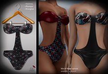 (*<*) 1313 July Swimsuit - Party Print 1