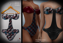 (*<*) 1313 July Swimsuit - Party Print 3