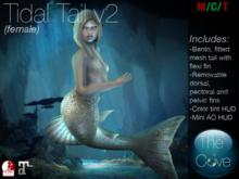 *The Cove* Tidal Tail Base v2 Female (Wear to unpack)